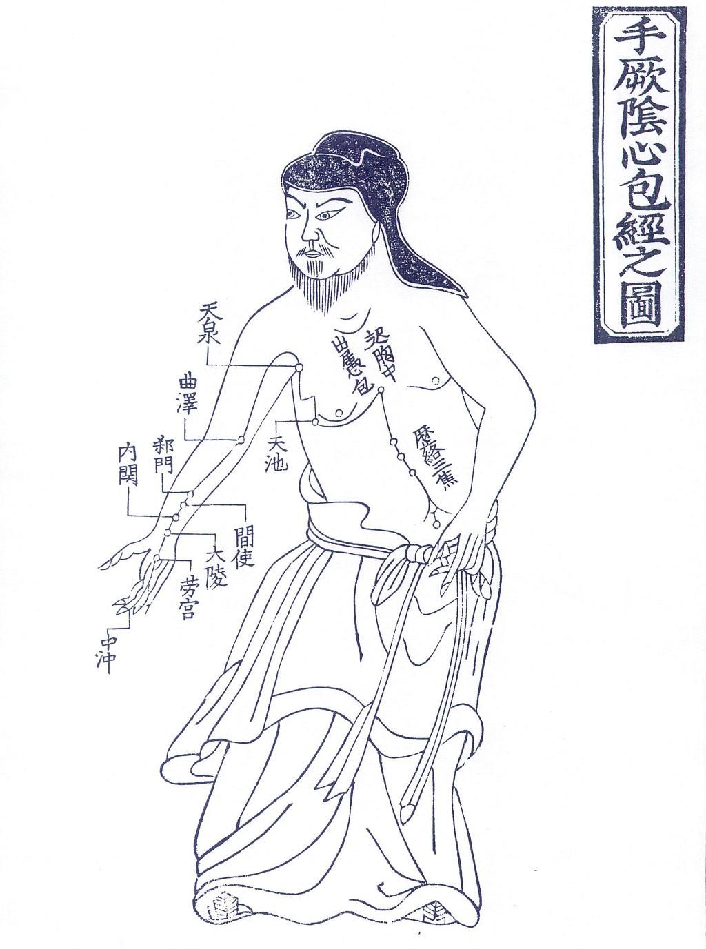 鍼灸経絡図・図版資料データベー...